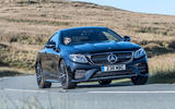 Mercedes-AMG E53 2018 review - cornering front