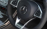 Mercedes-AMG GLC 63 S road test review steering wheel