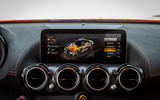 Mercedes-AMG GT Black Series road test review - infotainment