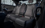 Mercedes-Benz A-Class saloon 2018 review - rear seats