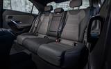 Mercedes-Benz A-Class saloon 2018 review - rear seats