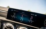 Mercedes-Benz CLA 2019 road test review - infotainment