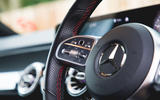 Mercedes-Benz GLB 2020 road test review - steering wheel controls
