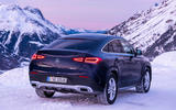 Mercedes-Benz GLE Coupe 2020 road test review - static rear