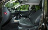 Mercedes-Benz X-Class road test review cabin