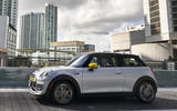 Mini Electric 2020 road test review - on the road side