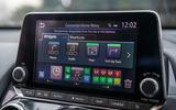 Nissan Juke 2020 road test review - infotainment