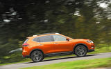 Nissan X-Trail road test review - on the road side