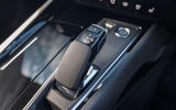 Peugeot 508 SW Hybrid 2020 road test review - gearstick