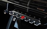 Peugeot e-208 2020 road test review - piano keys