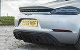 Porsche 718 Spyder 2020 road test review - exhausts