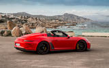 Porsche 911 Speedster 2019 review - static rear