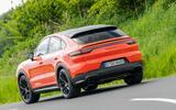 Porsche Cayenne Coupé 2019 review - on the road rear