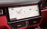 Porsche Cayenne Turbo 2018 road test review sat nav