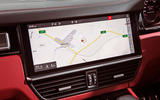 Porsche Cayenne Turbo 2018 road test review sat nav