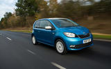 Skoda Citigo 2017 first drive review on the road front