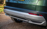 Skoda Karoq Scout 2019 road test review - rear bumper