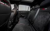 Skoda Kodiaq vRS 2019 road test review - middle row seats