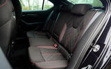 14 Skoda Octavia vRS TDI 2021 road test review rear seats