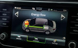 Skoda Superb iV 2020 road test review - infotainment