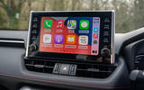 14 Suzuki Across 2021 road test review infotainment
