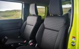 Suzuki Jimny 2018 road test review - cabin