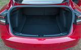 Tesla Model 3 2018 road test review rear boot
