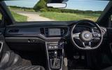 Volkswagen T-Roc Cabriolet 2020 road test review - dashboard