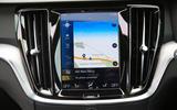 Volvo V60 2018 road test review sat nav