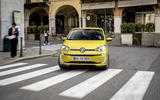 Volkswagen e-Up 2020 road test review - cornering