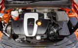 1.8-litre MG 6 petrol engine