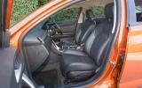 MG 6 1.8T TSE interior
