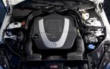 3.0-litre V6 Mercedes-Benz E350 CGI coupe engine