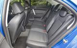 MG6 Magnette TSE rear seats