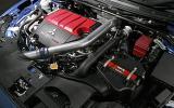 Mitsubishi Evo FQ-400 engine bay