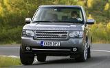 Range Rover hard cornering