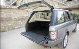 Range Rover split tailgate