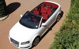 Audi A3 Cabriolet roof down