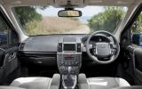 Land Rover Freelander interior