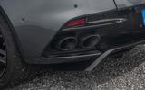 Aston Martin DBS Superleggera 2018 road test review - exhaust