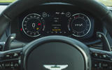Aston Martin DBX 2020 road test review - instruments
