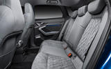 Audi A3 Sportback 2020 road test review - rear seats