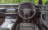 Audi A7 Sportback 2018 road test review dashboard