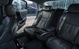 Audi A8 60 TFSIe 2020 road test review - rear seats