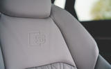 15 Audi E Tron S 2021 RT front seats