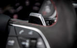 Audi RS Q3 2020 road test review - paddle shifters