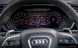 Audi RS Q3 Sportback 2020 road test review - instruments