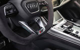 Audi RS Q8 2020 road test review - flat bottom steering wheel
