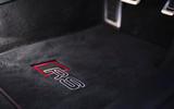 Audi RS7 Sportback 2020 road test review - floor mats
