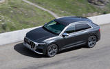 Audi SQ8 2019 road test review - on the road above